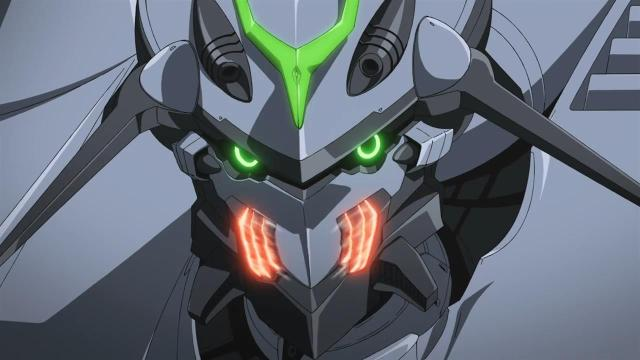 Nirvash looks like a badass in this scene!